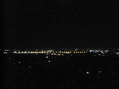 ゲイウェイカーの夜景