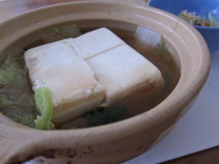 飛如の湯豆腐