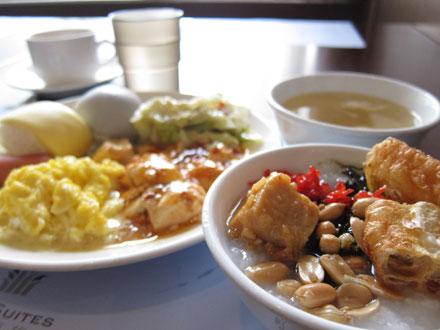 台北シティスイート朝食
