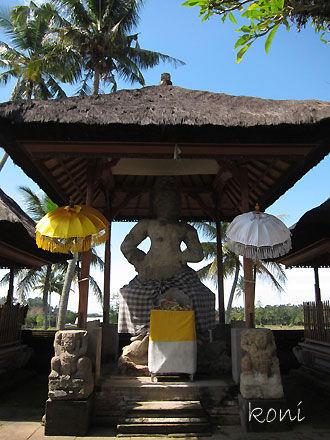 バリ島クボエダン寺院-(3)