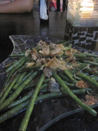 バリ島長豆の炒め物