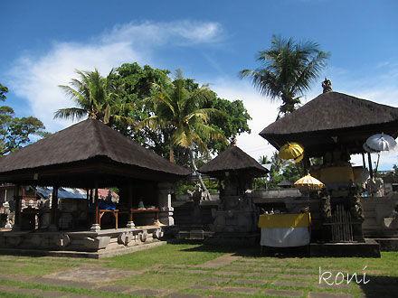 バリ島クボエダン寺院-(7)