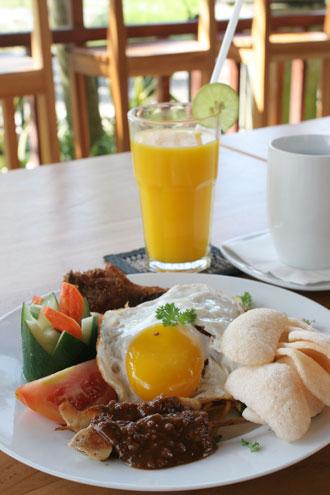 ブッダヴィラ朝食2