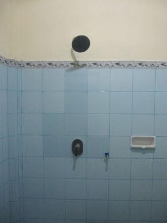 コスのシャワー