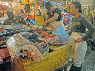 バドゥン市場6