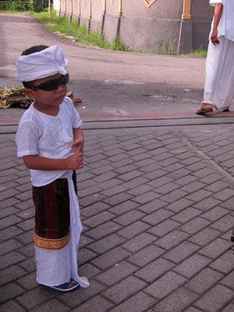 バリ島子供