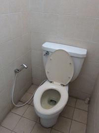 マノハラホテルのトイレ