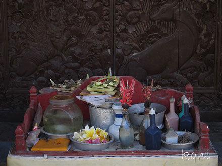 バリ島クボエダン寺院-(8)