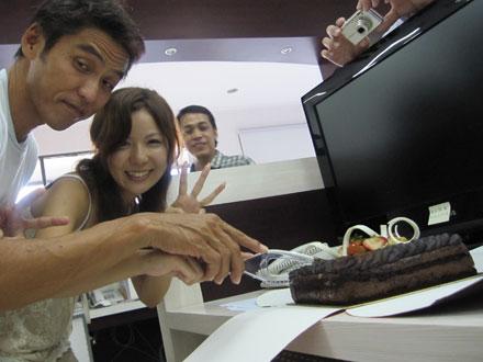 バリ島ケーキ