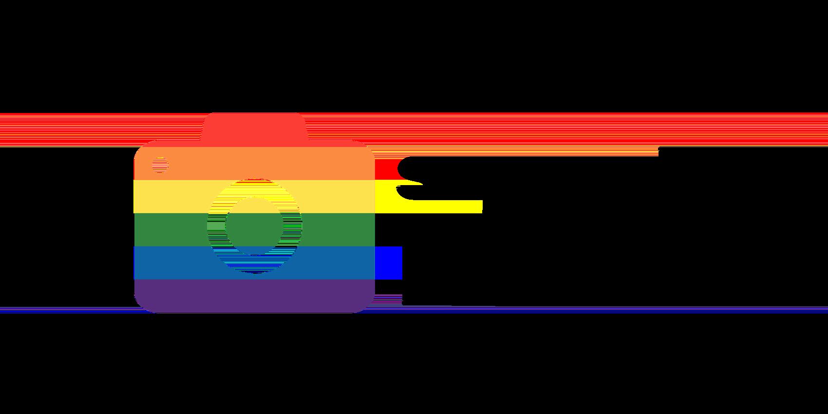 Free LGBT logo for photographer / フリー素材LGBTロゴ