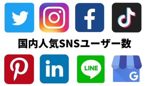 [2021年1月] 人気SNSユーザー数 – Popular Social Media in Japan