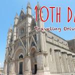 イタリア10日目・移動日 ローマ→オルヴィエート(Orvieto)へ
