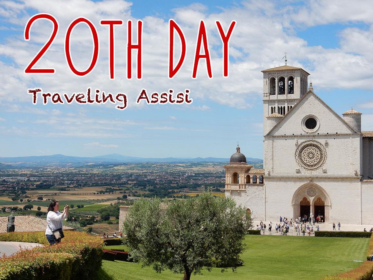 イタリア20日目・サン・フランチェスコ大聖堂とロッカ・マッギオーレ