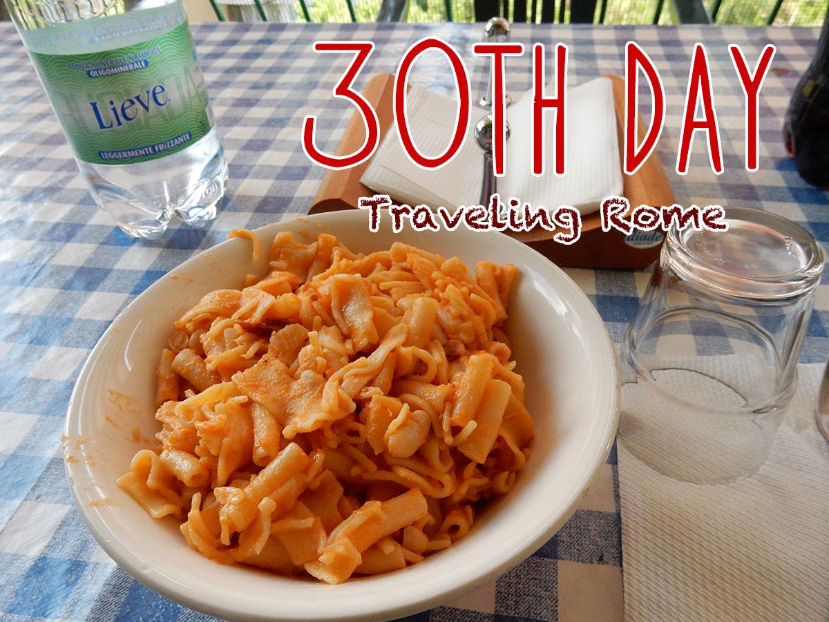 イタリア30日目・ローマに帰還、出かけない