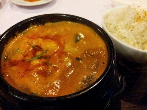 ジンバランにオープンした韓国料理レストラン。美味しい!