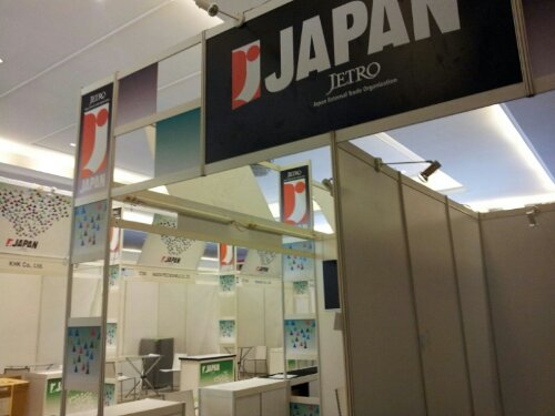 ジャカルタ展示会のサポート